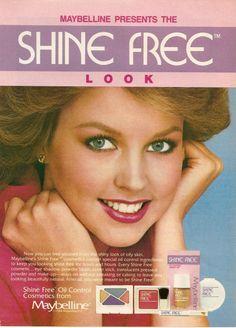 1984 Maybelline Shine Free Ad