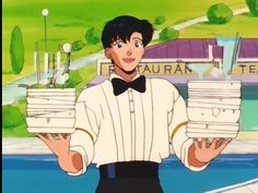 My boyfriend when I opened my coffee bar Sailor Moon Aesthetic, Aesthetic Anime, Disney Aesthetic, Anime Art Girl, Anime Guys, Sailor Moon Drops, Sailor Moon Screencaps, Anime Pixel Art, Tuxedo Mask