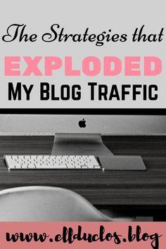 How I Exploded My Blog Traffic