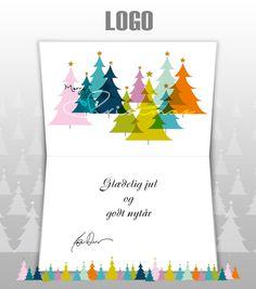 ekortet.dk leverer danmarks flotteste elektroniske julekort til virksomheder. På billedet: Julekort med logo. Juletræer. Ekort, e-kort, e-julekort, ejulekort, elektroniske julekort, ecard, e-card, firmajulekort, firma julekort, erhvervsjulekort, julekort til erhverv, julekort med logo, velgørenhedsjulekort, julekort
