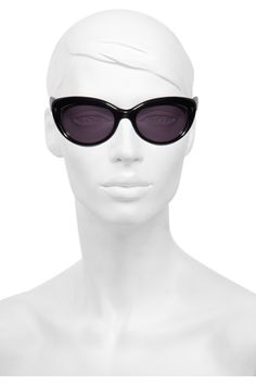 445795d022 Yves Saint Laurent - Cat eye acetate sunglasses