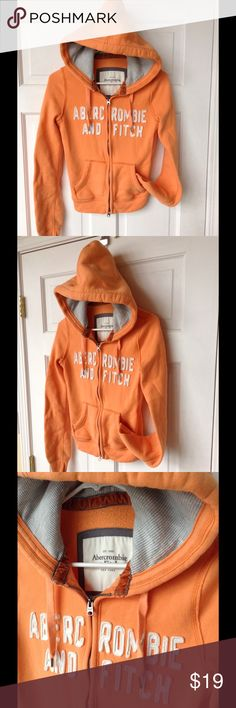 ABERCROMBIE and FITCH HOODIE In excellent condition, size small. ❤️ Abercrombie hoodie. It's comfy. Abercrombie & Fitch Tops Sweatshirts & Hoodies