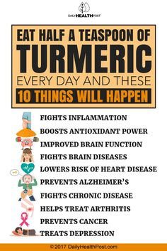 turmeric 10 things
