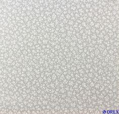 (4,48€/1qm) Fleuri Pastel Tapete Landhaus Vlies 93766-1 937661 Floral grau weiß in Heimwerker, Farben, Tapeten & Zubehör, Tapeten   eBay