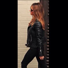 Wow Cheryl Cole wearing her Kay Michael s Quilted Biker!!  cherylofficial  Such an honour 2b52cf7be9
