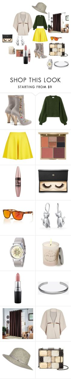 """""""simple and fabulous"""" by domowa-jallah on Polyvore featuring Mode, Fendi, Oh My Love, Stila, Maybelline, Lash Star Beauty, Superdry, Bling Jewelry, Free People und MAC Cosmetics"""