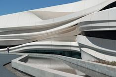 waa we architech anonymous museum of contemporary art MOCA yinchuan china designboom Architecture Design, Parametric Architecture, Architecture Awards, Futuristic Architecture, Creative Architecture, Amazing Architecture, Magazine Design, Retail Facade, New Museum