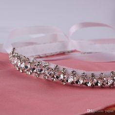 Wedding Sash Bridal Belt, Bridal Sash Wedding Belt ,diamond Wedding Sash, Diamond Bridal Belt,Diamond Wedding Belt- Crystal Sash Belt S42 Online with $27.22/Piece on Yupan's Store | DHgate.com