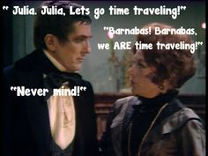 Dark Shadows Funnies for fans of Barnabas and Julia.