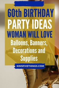 birthday party balloons in pinks and rose gold. birthday party plates and napkins sets. birthday celebration ideas for a sister, Mom, Grandma, Aunt, Girlfriend. 60th Birthday Celebration Ideas, 60th Birthday Gifts, Birthday Party Decorations, Birthday Parties, Love Balloon, Party Banners, Party Plates, Female Friends, Napkins Set