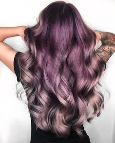 See here the fascinating ideas of purple hair colors for women Nowadays, p. See here the fas Hair Color Purple, Cool Hair Color, Hair Colors, Plum Color, Balayage Hair, Ombre Hair, Pulp Riot Hair Color, Plum Hair, Hair Color For Women