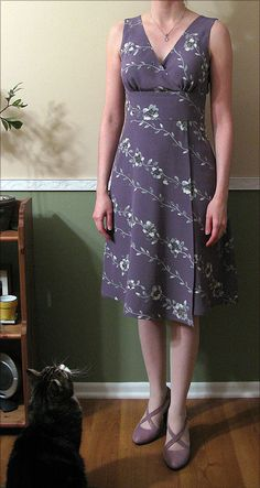 Butterick 5485 -- Brae's closet    --   This woman sews beautifully.