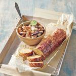 Vuoi un secondo piatto sfizioso e ghiotto a prova di vegetariani? Prova questo polpettone con zucca e funghi! Scopri la ricetta di Sale&Pepe.