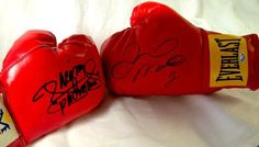 Floyd Mayweather Jr. & Manny Pacquiao DUAL Autographed « Impulse Clothes