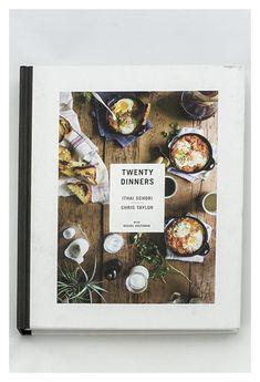 Twenty Dinners: A Cookbook Menu Design, Layout Design, Cookbook Cover Design, Recipe Book Design, Recipe Book Covers, Recipe Books, Menu Book, Cocktail Book, Cookery Books