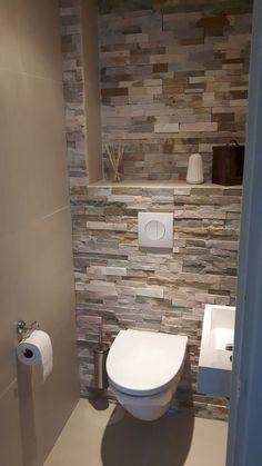 Space Saving Toilet Design for Small Bathroom - kleines badezimmer Modern Bathroom Design, Bathroom Layout, Bathroom Interior Design, Bathroom Ideas, Modern Design, Bathroom Organization, Bathroom Storage, Toilet And Bathroom Design, Small Toilet Design