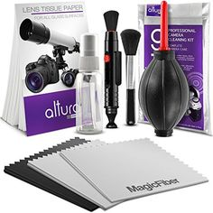 Discounted Altura Photo Professional Cleaning Kit for DSLR Cameras and Sensitive Electronics Bundle with Refillable Spray Bottle