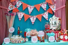 Amy's Party Ideas: {Real Parties I've Styled} Circus Carnival Party!