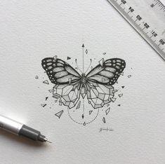 monarca-ideas-de-disenos-de-tatuajes-de-animales.png (1024×1019)