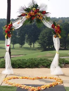 Cheap Wedding | wedding-arch-decorating-tips-pictures-under-the-arch[1]