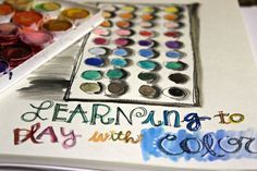 An Art Journal page (by Stephanie Ackerman) - love!!! I want to do this in mine!