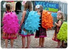 Cute and very colorful backpacks