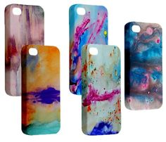 iPhone 5 Abstract cases by Voyage Art