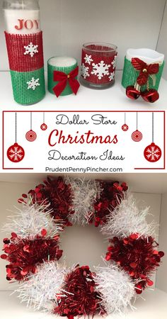 diy dollar store christmas decorations - Best Store For Christmas Decorations