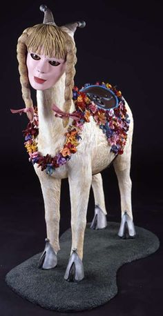 Marnie Weber. Goat with Girl's Head