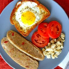 Moon Eggs-Italian Style. Yummy-Belly-Breakfasts That Won't Slow Your Roll.