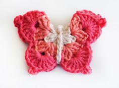 gomita mariposa gama de rosas - de las bolivianas — de las bolivianas
