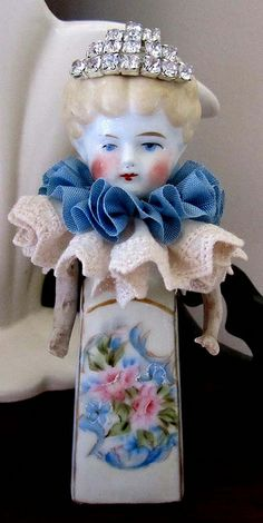 I am hosting a swap with the Marie Antoinette Mail Art Group and these are the dolls we are swapping. Vintage Crafts, Vintage Dolls, Recycled Toys, Frozen Dolls, Half Dolls, Dolls Dolls, Found Object Art, Creepy Dolls, Bisque Doll