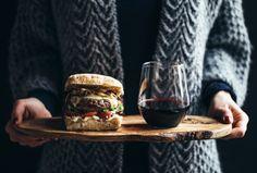 delta-breezes:Chorizo Burger w/Grilled Mushrooms & Smoked Havarti | The Artful Desperado