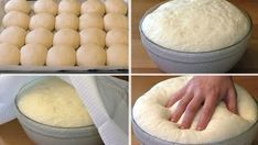 I offer you a recipe for yeast dough for whole .- Предлагаю вам рецепт дрожжевого теста на вс… I offer you a recipe for yeast dough for all occasions. This is a budget dough, as it is prepared without eggs and milk. Recipes With Yeast, Kosher Recipes, Bread Recipes, Baking Recipes, Vegan Recipes, How To Make Bread, Food To Make, Puff Pastry Recipes, Russian Recipes