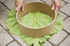Tarinoita punaisen katon alta: Tee-itse pihalaatat | DIY stepping stones for your garden
