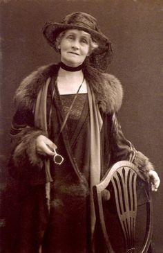 Emmeline Pankhurst By (Mary) Olive Edis (1920's)