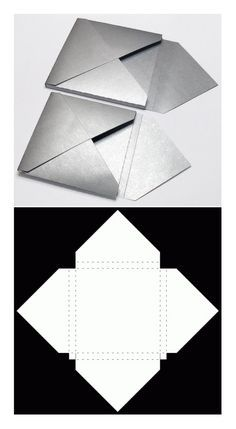 "box ""enveloppe"" More - Trends Pin Envelope Origami, Envelope Box, Envelope Punch Board, Origami Box, Diy Gift Box, Diy Box, Diy Gifts, Gift Boxes, Diy Paper"