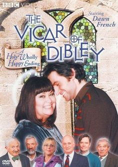 Richard Armitage and Dawn French in The Vicar of Dibley. It's where I met Richard Armitage for the first time. British Tv Comedies, British Comedy, British History, Uk Tv Shows, Great Tv Shows, Richard Armitage, Gabriel, Vicar Of Dibley, Dawn French