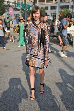 Anya Ziourva at New York Fashion Week