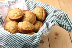 All Natural Zucchini Muffins - Vegan, Gluten Free, Sugar Free and 100% Delicious