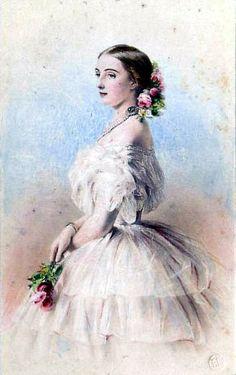 Великая княгиня Ольга Фёдоровна Романова,  Grand Duchess Olga Feodorovna Romanova, 1857