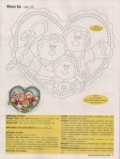 Pintura Tecido com Apliquê - maria serafina aguiar - Álbumes web de Picasa