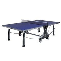 "Cornilleau Sport 400M Outdoor Table Tennis Table Color: Blue by Cornilleau. $1.20. Cornilleau standard features include quality production and materials, ease of use, best safety design, excellent warranty, and playback mode. In addition, the Cornilleau Sport 400 M Outdoor features:   - 6mm resin laminate top provides a hard, dense playing surface  - Patented MATTOP® finish provides an anti-glare finish and proper ball adherence  - 1 3/4"" structural galvanized..."