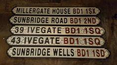 Sunbridgewells' new signage for its 5 entrances
