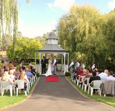 Get married under our Gazebo