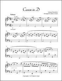 pachelbel canon in d easy version sheet music for piano kids educational pinterest. Black Bedroom Furniture Sets. Home Design Ideas