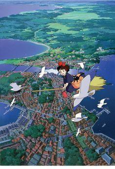 Kiki's Delivery Service - Studio Ghibli