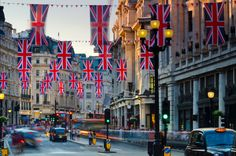 Gettyimages: Regent Street London ready for the royal wedding by Alan Copson