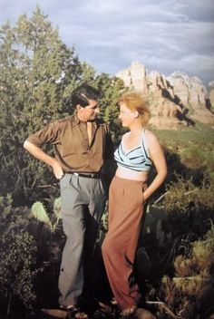 Roland Penrose and Lee Miller, Sedona, Arizona, USA, 1946