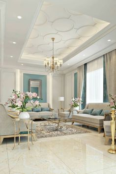 By the era of masterpieces, the trend of classic Era will bring you a royal feeling is part of Ceiling design bedroom - House Ceiling Design, Ceiling Design Living Room, Home Room Design, Interior Design Living Room, Living Room Designs, Room Interior, Modern Ceiling Design, Gypsum Ceiling Design, Design Bedroom